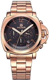 ساعة للرجال من ميجر، سوار ستانليس ستيل، كرونوغراف M-3006-26