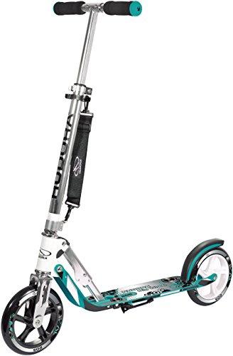 HUDORA 14751/01 Big Wheel Aluminium Scooter, Turquoise, 205 mm