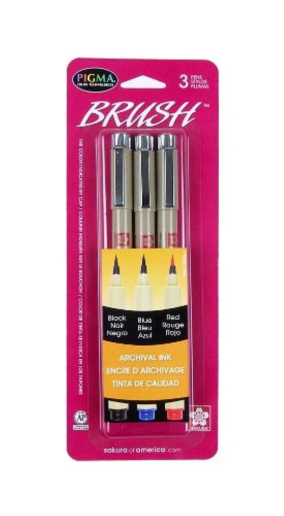 Sakura 50024 3-Piece Pigma Brush Set