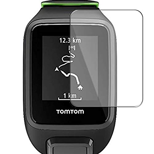 Puccy Privacy Screen Protector Film, Compatible with Tomtom Runner 3 Cardio Anti Spy TPU Guard ( Not Tempered Glass Protectors )