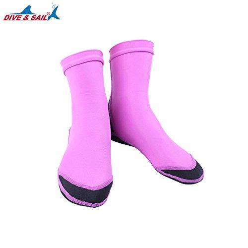 Etbotu Unisex Lycra 1.5MM Neopren Tauchen Scuba Surfen Socken Anti Rutsch Tauchen Socken Stiefel Geschenk