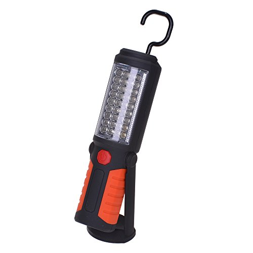 Filmer 56107 baladeuse d'atelier Main Lampe de Poche 36 + 5 LED
