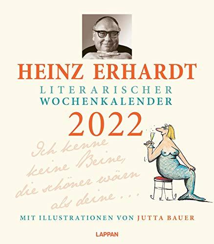 Heinz Erhardt – Literarischer Wochenkalender 2022: Es war einmal ein buntes Ding ...