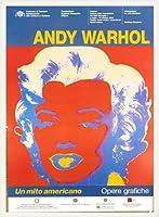 ポスター アンディ ウォーホル Un Mito Americano 額装品 ウッドベーシックフレーム(ホワイト)