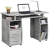 COMIFORT Mesa de Ordenador, Escritorio, Mesa de Oficina, 115x55x76 cm (Stone)