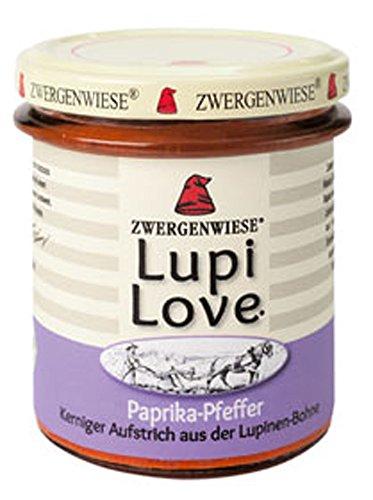 3er-SET Bio Brotaufstrich LupiLove Paprika-Pfeffer 165g Zwergenwiese
