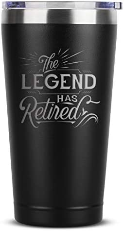 The Legend Has Retired Retirement Gifts for Women Men Coworker Boss Supervisor Employee 16 oz product image