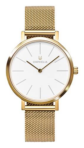 ORPHELIA Damen Analog Quarz Uhr mit Edelstahl Armband OR12801