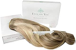 Halo Hair Extensions - Highest Quality, 100% Human, Remy, European, Double-Drawn (20