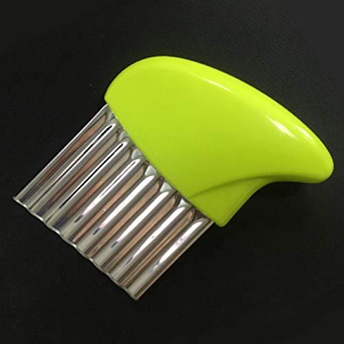 Ba30DEllylelly Dispositivo di taglio a coltello per patate multifunzionale Wave Knife