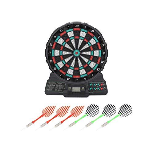 SXGKYY 14,6 Zoll Elektronische Dartscheibe Dart Game Set Display Automatische Scoring Dart Platte Zähltafel