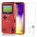 Gameboy Case for iPhone XR,Handheld Retro 36 Classic Games,Color Video Display Game Case for iPhone,Anti-Scratch Shockproof Phone Cover for iPhone WeLohas