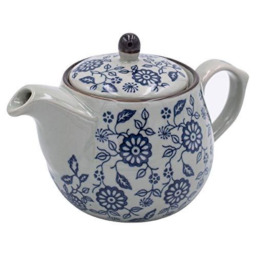 ROEWP Teteras teapot 500ml / 16.9oz Tetera de la Porcelana con Filtro Azul y Blanco Porcelana Tetera de cerámica del pote del té Tradicional té de China de Hueso Ollas de té Flojo con infusor
