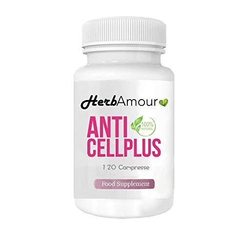 HerbAmour AntiCellPlus | Natürliche Ergänzung | 120 starke Abnehmen und effektive Fettverbrennung Tabletten Produktverluste, Chili schnell zu verlieren | Koffein Glutenfrei
