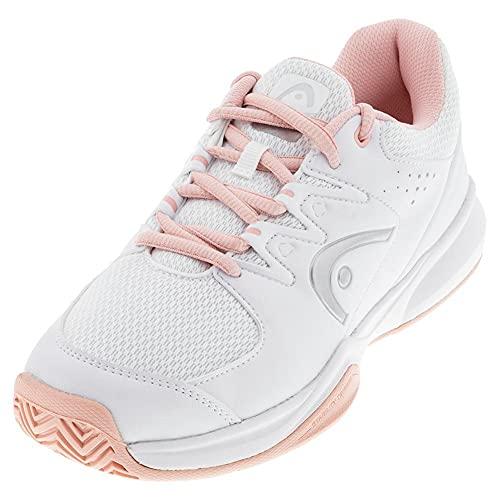HEAD Damen Brazer 2.0 Women Tennis Shoe, Weiß Rosé, 38 EU