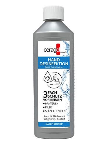 ceragol ultra Desinfektionsmittel für Hand und Flächen - ohne Alkohol, 500ml