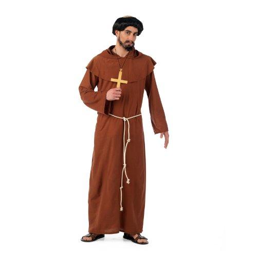 moine franciscain - costume, habitude avec des ceintures de corde, des classiques de costumes - XL