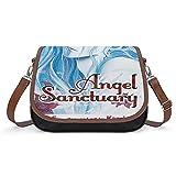 Angel Sanctuary - Bolso de mano para mujer, estilo vintage, bolso de hombro retro