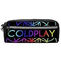 コールドプレイ Coldplay3かわいい 本革ペンケース 文房具 大容量 ペンケース シンプル ファスナータイプ 手作り レザー筆箱 コンパクト ペンケース 高級感 収納ボックス