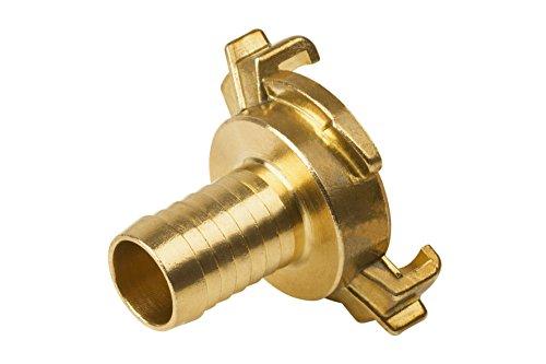 Meister Schnellkupplungs-Schlauchstück für 19,05 mm (3/4 Zoll) Schläuche - Messing - Trinkwasser geeignet - Geprüfte Qualität / Schlauchverbinder / Steckkupplung / Schlauchkupplung / 9925310