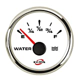 BBINGFANG-W Cruscotti Indicator Meter Multiplo Universale retroilluminazione 52 Millimetri del Livello dell'Acqua Calibro for crogiolo di Camion dell'automobile Auto