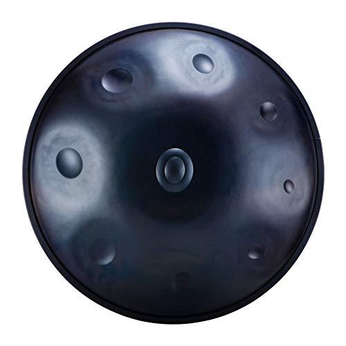 LAOSHIPAI D-Ton-Handtrommel Yoga-Instrument Mit Leerem Verstand ätherische Trommel Für Die Musikrehabilitation Schlagzeugtrommel Für Die Zen-Meditation Musikaufklärungserziehung,9 TonesB
