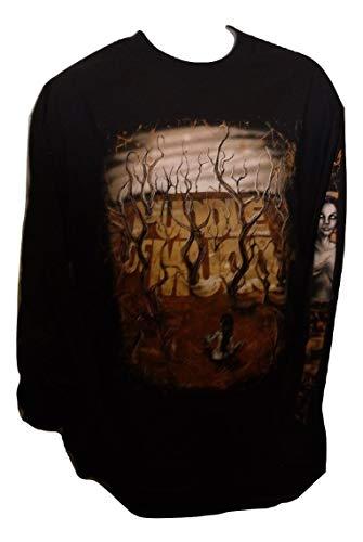 Official Band Merchandise Puddle of Mud 'Bog Walker' shirt met lange mouwen Zwart