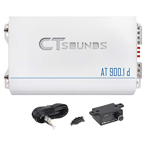 CT Sounds AT-900.1D 1200 Watt Class D Competition Mono Amplifier Car Audio