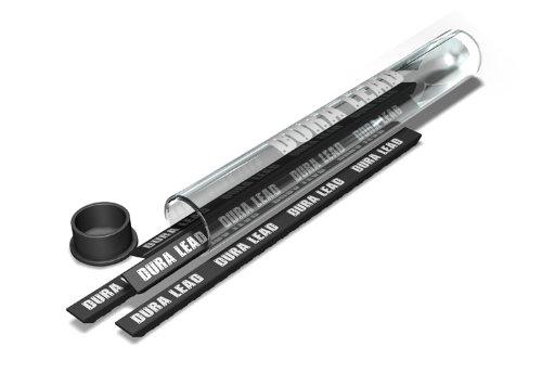 Striker Hand Tools 77589 Cargador en Plomo para la Striker Mechanical Carpenter Pencil, Negro