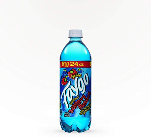 Raspberry Bluberry Faygo Big 24oz. Soda. Naturally and Artificially flavored