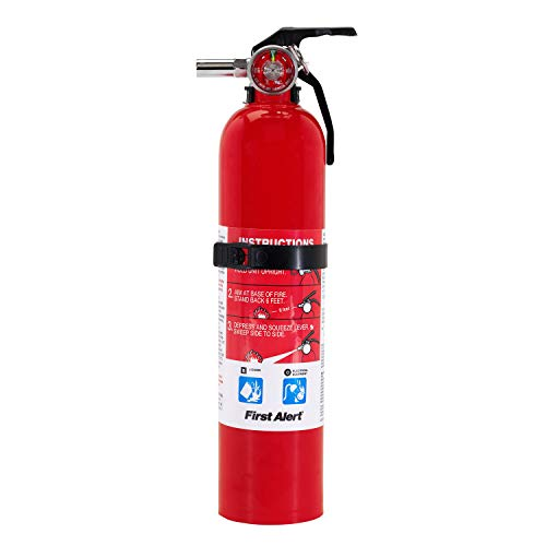 FIRST ALERT Fire Extinguisher, Garage Fire Extinguisher, Red, Garage10 FE10GR