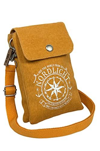 Mini Crossbag Tasche Nordlicht (Curry)