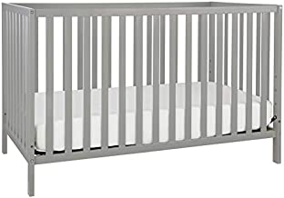 Union 3-in-1 Convertible Crib, Grey