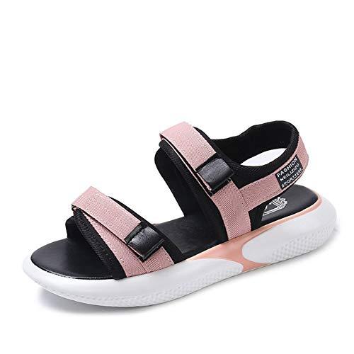 Sandalias de Mujer Casual cómodo Lazo Plataforma cuña Verano al Aire Libre Lady Peep Toe Zapatos de Playa