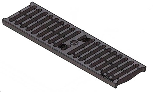 Zurn Z884 P4-CG Cast Iron Slotted Class B Trench Drain Grate
