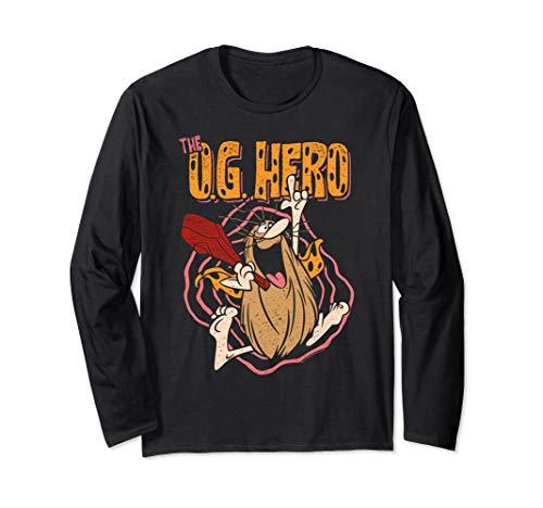 Captain Caveman OG Hero Long Sleeve T-Shirt