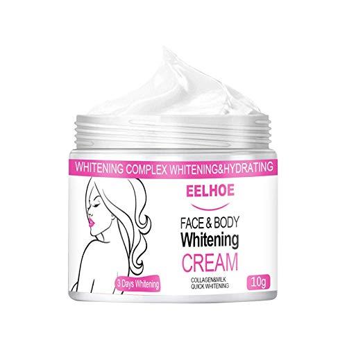 ZYZS Whitening Cream, Aufhellung Creme, Flecken Creme, Altersflecken Creme, Gesicht Freckles Removal Cream Dunkle Flecken Creme gegen Pigmentflecken Altersflecken Hyperpigmentierung - 10 ML