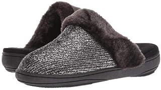 Tempur-Pedic(テンパーペディック) レディース 女性用 シューズ 靴 スリッパ Kensley - Black/Pewter [並行輸入品]