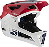 Leatt Casque MTB 4.0 Enduro Casco de Bici, Unisex Adulto, Rojo Chilli, Small