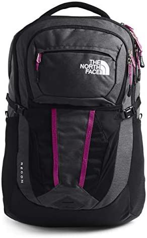 The North Face Women s Recon Backpack Asphalt Grey Light Heather Wild Aster Purple One Size product image