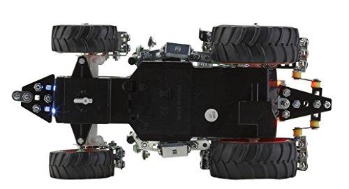 RC Auto kaufen Traktor Bild 3: RC Metallbaukasten, RC FENDT 313 VARIO, RC Traktor, ferngesteuert, 27 MHZ, Maßstab 1:24, 574 Teile, Tronico, Baukasten inklusive Werkzeug*