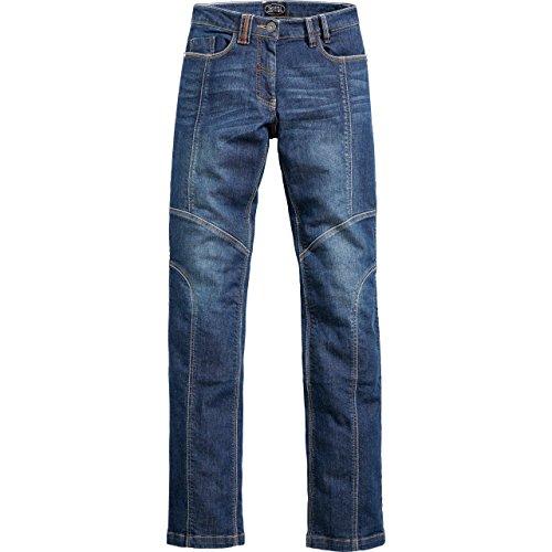Spirit Motors motor jeans motorbroek motorjeans Dames Aramide/katoen jeans stretch 2.0, dames, multipurpose, het hele jaar door, textiel