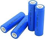 4 Piezas 18650 Sharp 3.7V 3000 Mah Lihtium Batteria Recargable para Batería Externa Micrófono Radio Linterna Led Faro