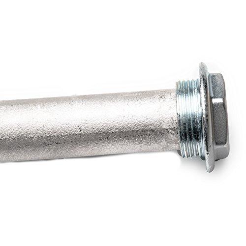 Anode - Schutzanode - Magnesiumanode DN 32 1 1/4 Zoll x 500 mm I 5/4 Zoll - Ersatzanode für Warmwasserspeicher - Anode für Warmwasserboiler