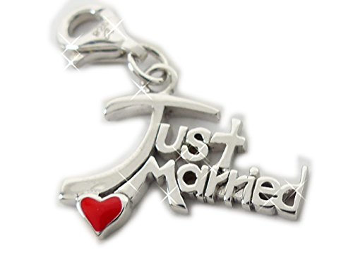 s. Oliver Beads Charms Chaînes anhaenger Just Married