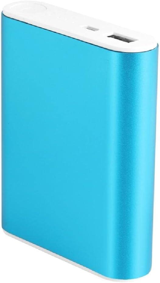 Hero-s - 5V 1A USB 4X 18650 Power Bank Case Kit, Carcasa de batería 18650 de aleación de aluminio, Cargador de batería Caja de bricolaje, para teléfono inteligente, fácil de usar (baterías no incluida
