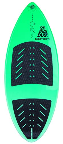 "O'Brien Space Dust Wakesurf Board, 52"" Green"