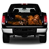 247 Skins Universal Tailgate Vinyl Graphic Decal Wrap - Trim to fit Any Vehicle - Bigfoot