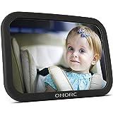OMorc Miroir Auto Bébé Rétroviseur de Surveillance Bébé pour Siège Arrière Miroir de Voiture pour Bébé en Sécurité avez...