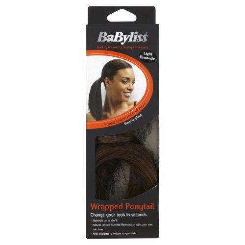 Babyliss paardenstaart wrap-haarstukje Light Brunette